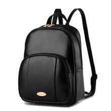 Американский Стиль простой Для женщин PU рюкзак моды многофункциональный отдых дорожная сумка девушка покупки рюкзак