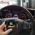 Ancel A202 de Múltiples Funciones Del Coche OBD Medidor Digital Inteligente + Código de Falla de Alarma Indicador De Temperatura Del Refrigerante de Tensión Medidor de Velocidad pantalla