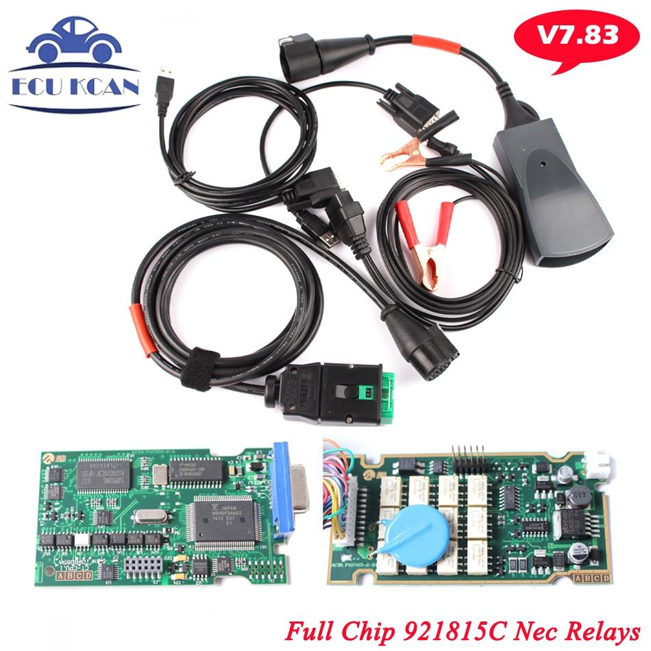 Цена за Бесплатная Доставка Lexia3 Lexia 3 Диагностический Инструмент С Оригинальный Полный Чип Серийный 921815C Lexia-3 V48 PP2000 V25 Diagbox 7.83