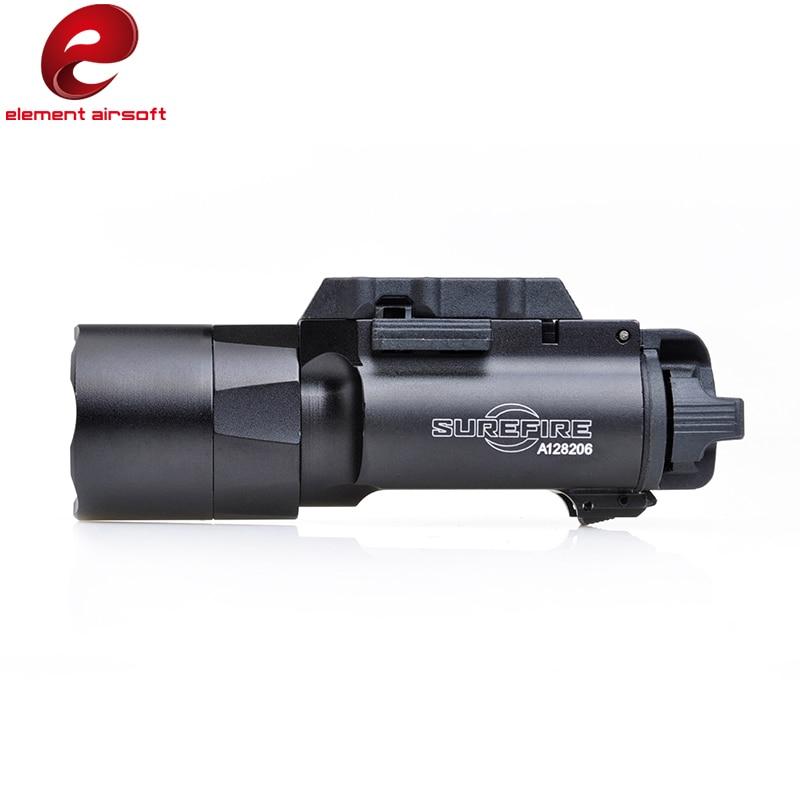 pistola softair x300u fashlight 370 lumen com trilho picatinny preto 05