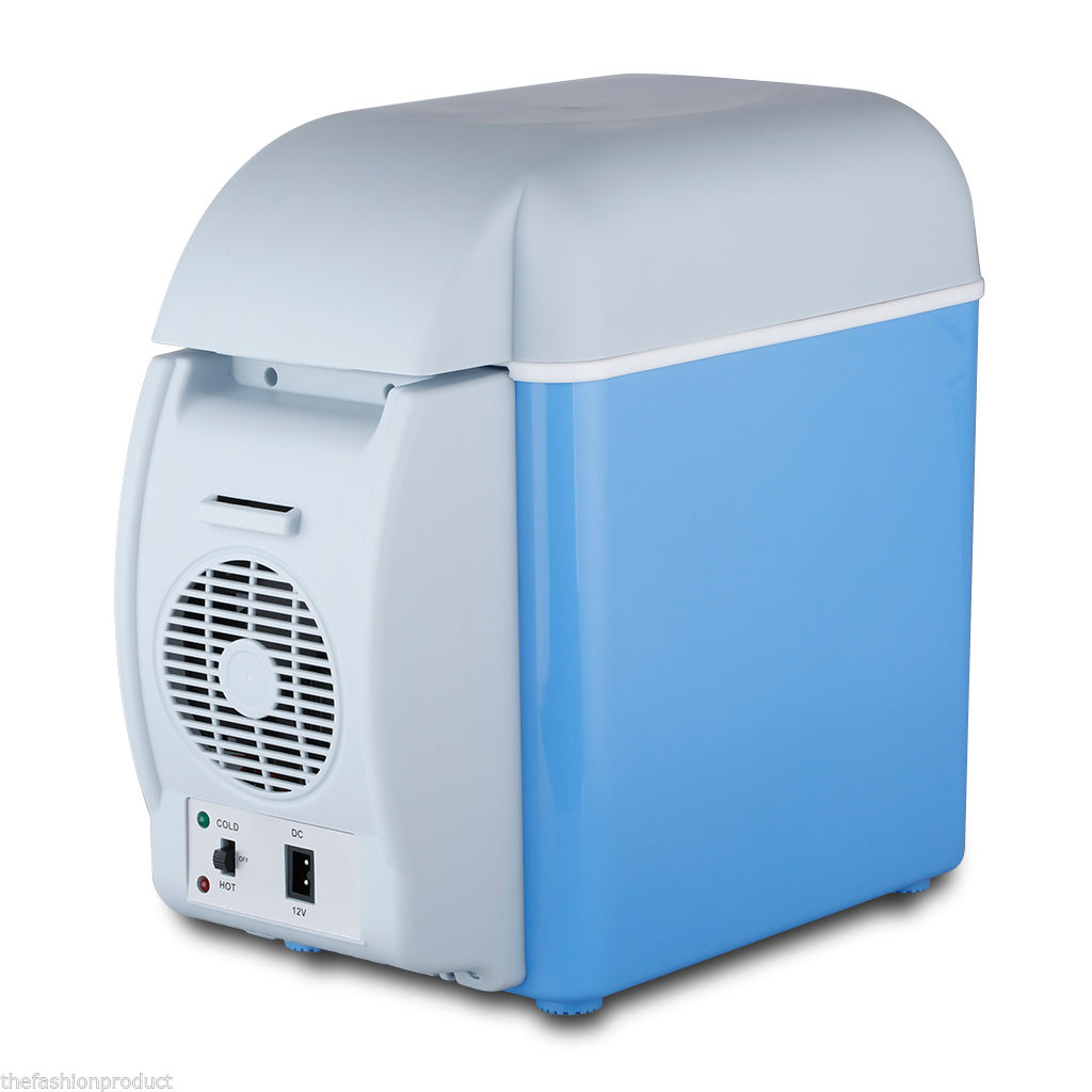 7.5L 12V Portable Car Freezer Fridge Travel Camping Refrigerator Cooler Warmer цена
