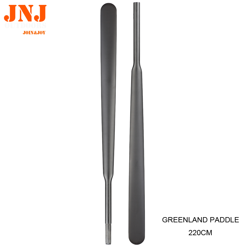Top Quality 100% Carbon Fiber Greenland Paddle With Free Bag