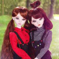 Original Handmade 1/3 SD Bjd Dolls Full Set 58cm Fashion Young Girl 23 Jointed Doll Large Lifelike Dolls Toys for Girls
