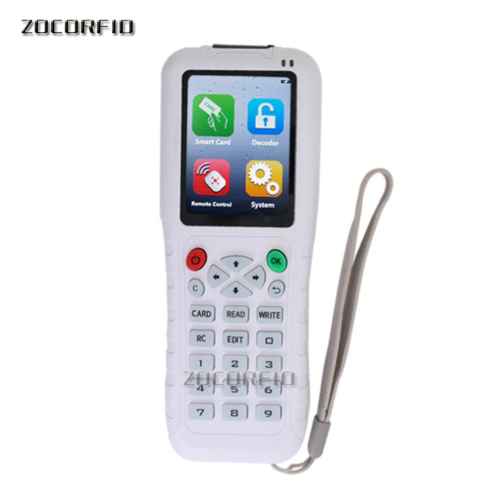 The Newest More Frequency Handheld RFID Duplicator RFID Copier Writer Programmer Reader