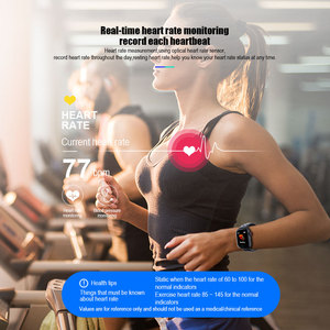 Image 3 - VERYFiTEK Z7 スマート腕時計血圧心拍数モニター IP67 フィットネスブレスレット腕時計女性男性スマートウォッチ ios アンドロイド