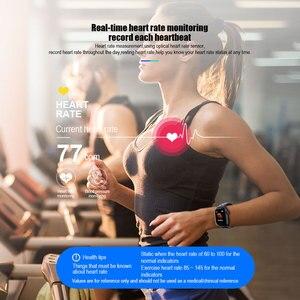 Image 3 - VERYFiTEK Z7 Smart Horloge Bloeddruk Hartslagmeter IP67 Fitness Armband Horloge Vrouwen Mannen Smartwatch voor IOS Android