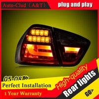 Автомобиль Стайлинг для BMW 3 серии E90 задние фонари 2005 2008 для i318 i320 светодиодный задний фонарь DRL + Тормозная + Park + сигнала Светодиодный свет