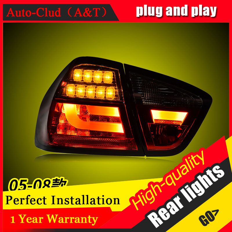 Car Styling for BMW 3 series E90 Taillights 2005-2008 for i318 i320 LED Tail Lamp Rear Lamp DRL+Brake+Park+Signal led lights image