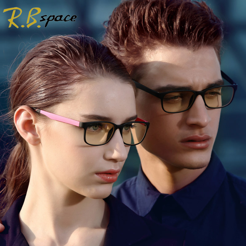 New Hot TR90 Lens Frames Fashion Design Mens Womens Eyewear Glasses PC Computer Radiation Protection in Colors (+0.00 strength)