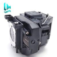 Compatible lamp with original burner for epson EB TW480 H432B EB S11 EB S02 EB X14 EB X12 EB X14G EB C15S for elplp67 V13H010L67