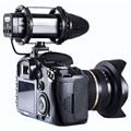 10% New Camera Compact External Stereo Video Microphone for Canon Nikon DSLR High performance