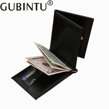 GUBINTU New Mens Wallet Money Clip High Quality Stainless Steel Money Clips Credit Card Clip Money Holder