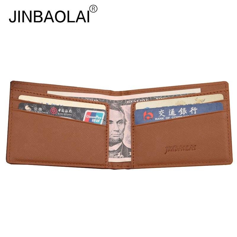 Fashion Men Dollar Money Clip Wallet Pu Leather Ultra-thin Design Card Slot Wallets Famous Brand Men's Walet for Men