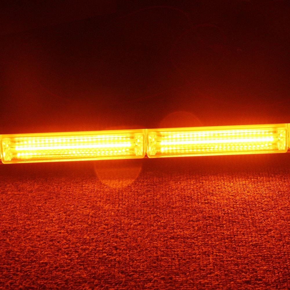 2pcs Flash Light Bars Car Truck Emergency Beacon Warning Hazard Flash Strobe Light Bar new