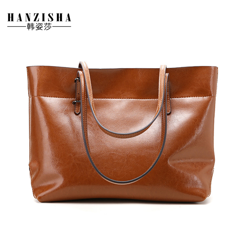 Fashion Design Large Capacity Genuine Leather Women Bag Luxury Natural Leather Women Handbag Famous Brand Bag Women Shoulder Bag luxury famous brand women handbag natural genuine leather bag vintage fashion shoulder messenger bags with three layers design