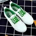 Low Cut Шнуровкой Белые Туфли Для Женщин 2017 Весной Новый Женский Случайные Холст Обувь Студент Обувь Zapatillas Femeninas