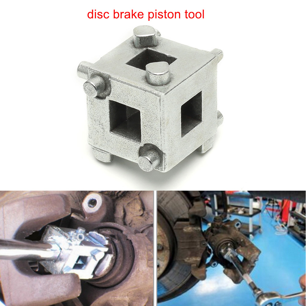 Auto Car Van Brake Vehicle Rear Disc Brake Piston Cube 3/8 Caliper Wind Back Tool Durable kunbaby 8 colors abs plastic car auto 3d word style disc brake caliper covers front and rear size m s 4 pcs