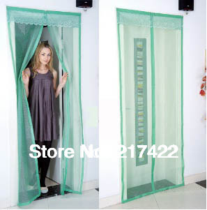 Magnetic Stripe Style Soft Screen Door Curtain Auto Close