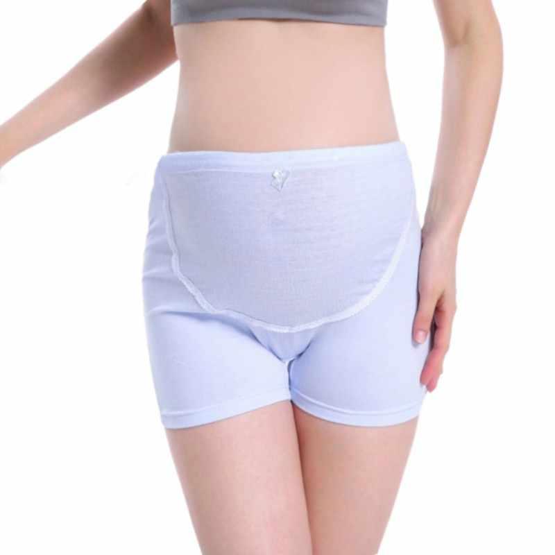 Culottes de maternité pour femmes sécurité pantalons courts femme automne sous-vêtements enceintes vêtements de grossesse 4 couleurs