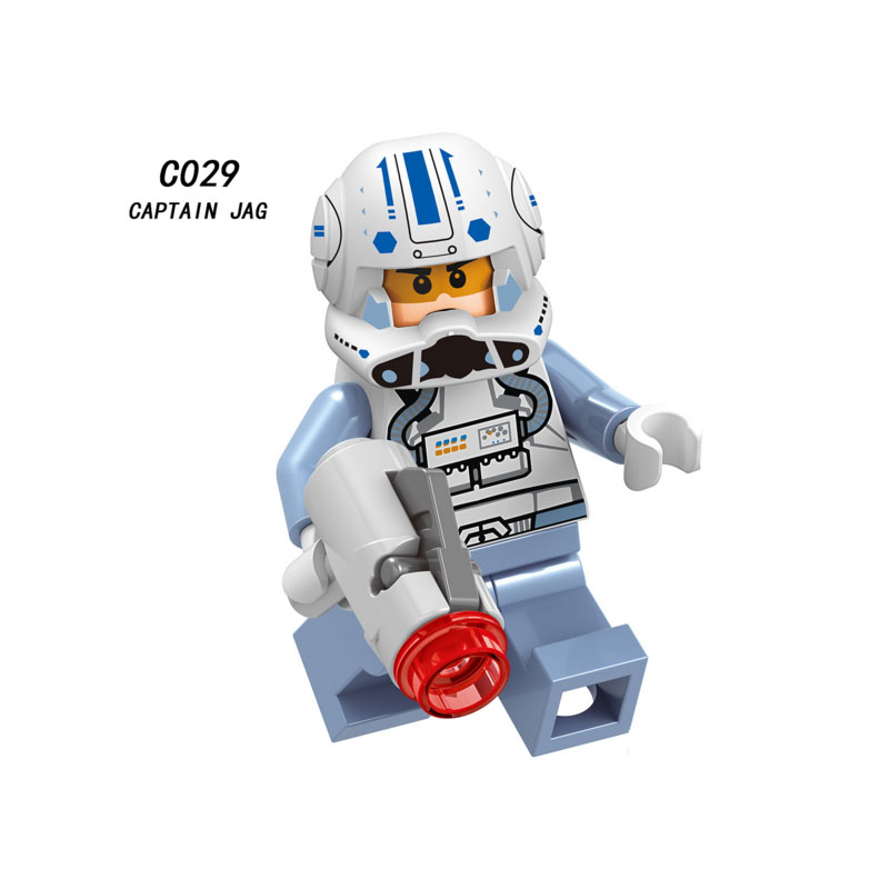 Blocks Model Building Single Sale Super Heroes Star Wars 383 Casual Clothes Captain America Building Blocks Figure Toys Gift Compatible Legoed Ninjaed
