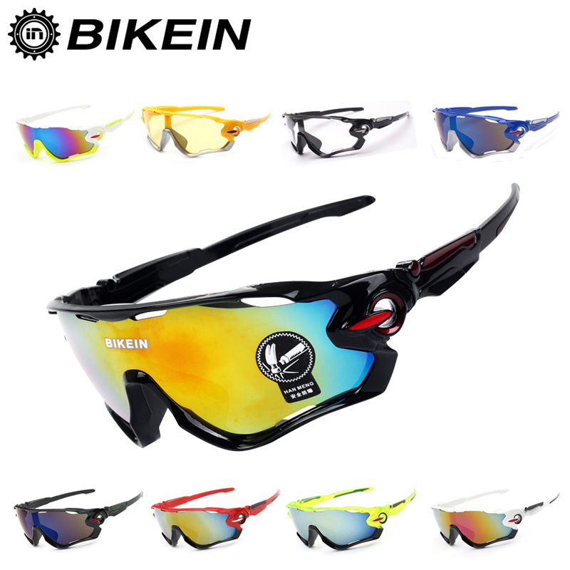 BIKEIN Outdoor Sports Cycling Bicycle UV-400 Goggles Windproof Sunglasses Riding MTB Bike Eyewear Equipment Bike Accessories 32g