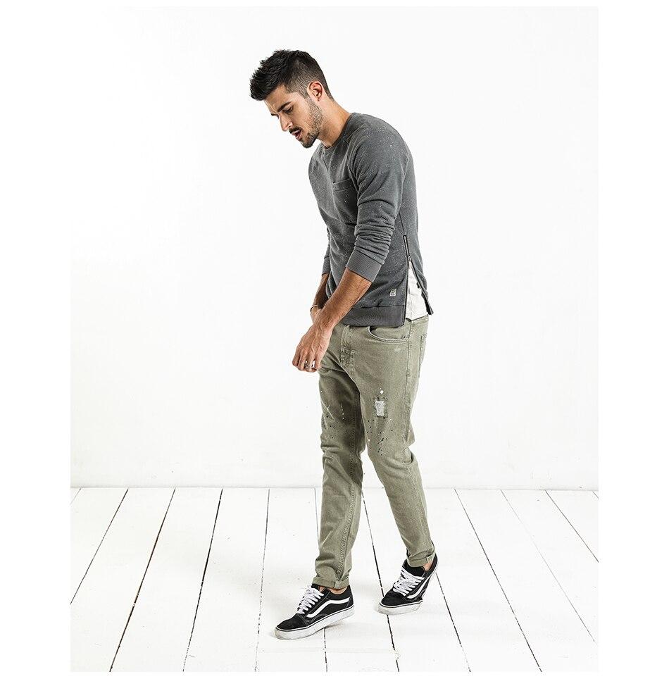 HTB18B18hDnI8KJjSszgq6A8ApXaQ - SIMWOOD Fashion Paint Splat 2019 Vintage Men Jeans Casual Hole Zipper Denim Pants Man Trousers Plus Size Free Shipping NC017053