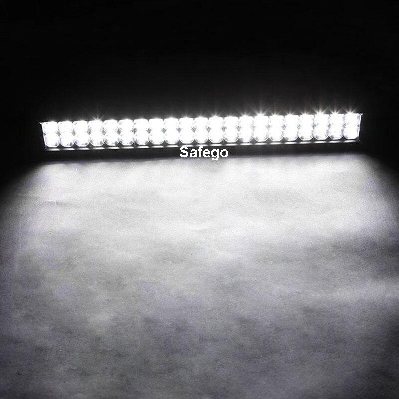 Image 5 - Safego 20 дюймов 126 Вт светодиодный свет бар внедорожный 4X4 светодиодный рабочий свет для внедорожников для грузовиков трактор ATV 12 V/24 V 7800LM белый 6000K-in Световая рейка/рабочее освещение from Автомобили и мотоциклы