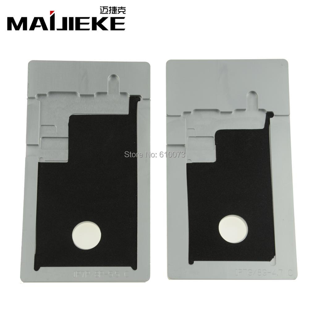 MAIJIEKE Change Polarizer mold for iPhone 8 7 6s 6 plus 5 5s 5c LCD remove UV glue mould ...
