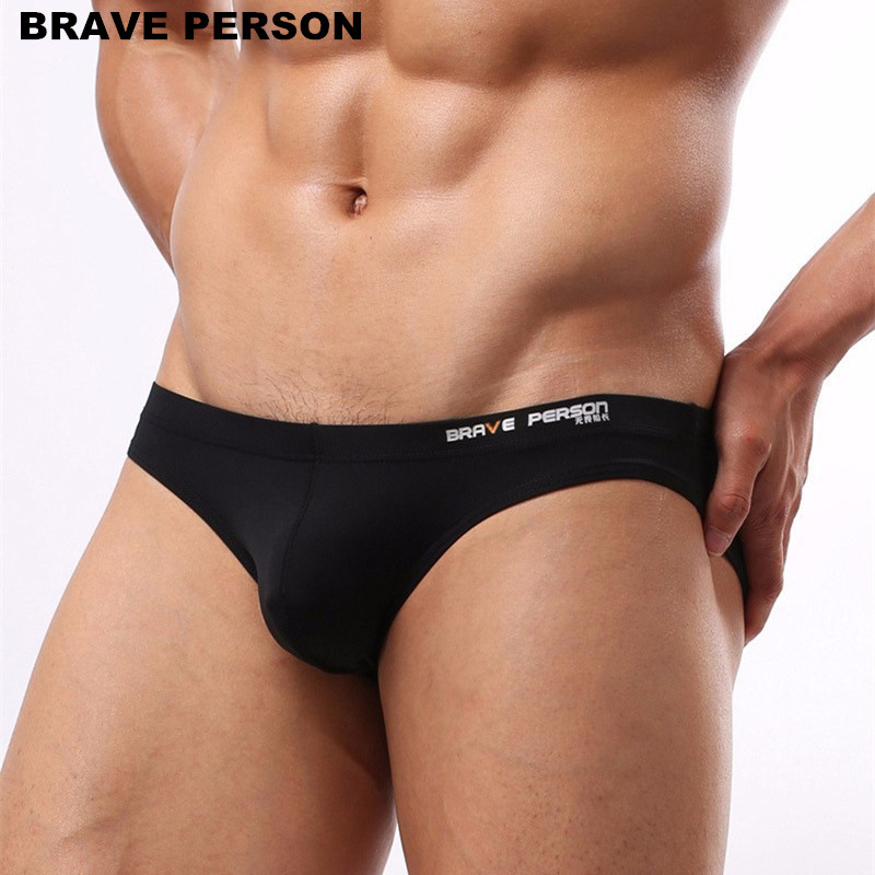 Men's Sexy Underwear Briefs Brave Person Brand Underwear Male Nylon Brief For Men B1129