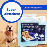 Dog Disposable Diapers Super Absorbent Pet Dog Cat Small Big Dog Training Diapers Dog Puppy Indoor
