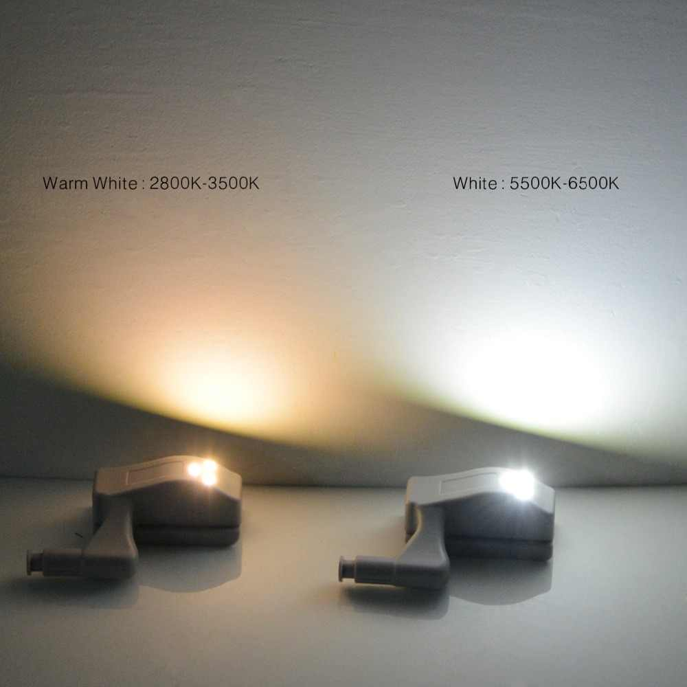 Универсальная внутренняя петля светодиодная Сенсорная лампа 0,3 Вт Светодиодный светильник для шкафа дверь шкафа 3 светодиодный ночник автоматическое включение