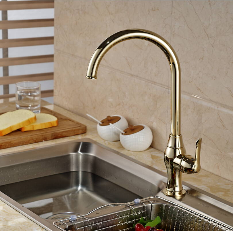 Aliexpress.com : Buy Good Quality Deck Mounted Kitchen Sink Faucet ...