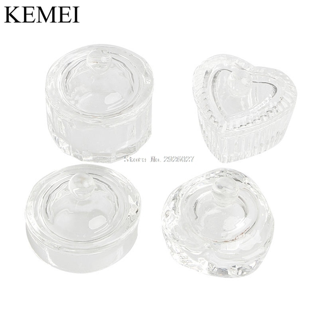 Exquisite Cosmetic Crystal Dappen Dish Cup Nail Art Fr Liquid Powder ...