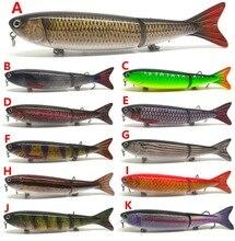 5″ Bass Pike Fishing Lure Bait Swimbait Jerkbait Pencil Banana NEW