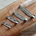 (Pedidos superiores a $10) 200 Unids/pack del Color del Níquel Broche Backs Safety Pins Conectores Metal Joyería Finding Accesorios