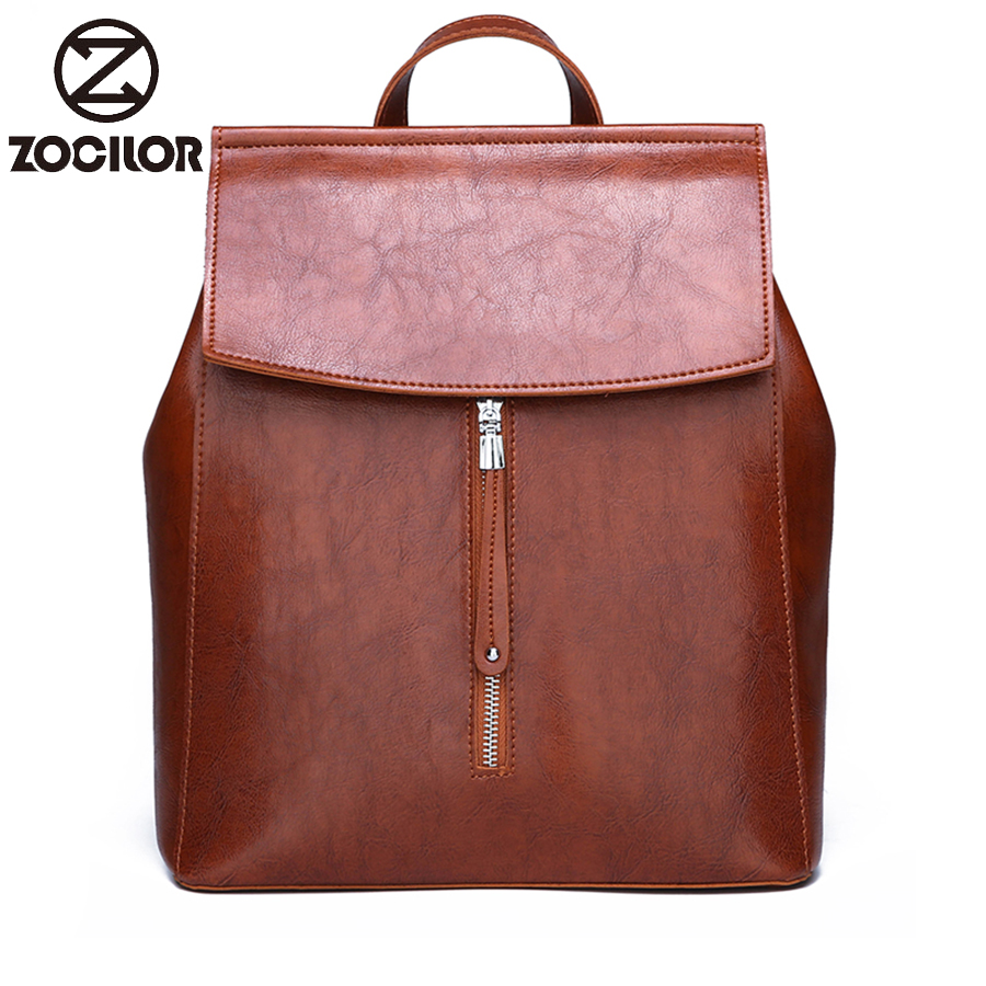 2019 New Woman Backpack High Quality Leather Brand Female Backpacks High Quality Schoolbag Large Capacity School Bag Travel Bag