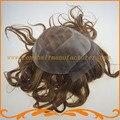 Швейцарской кружева мужчин волосы парик 6*8.5 дюймов топ швейцарский шнурок и PU мужские парики Индийские волосы тупею мужские волосы парик бесплатно доставка