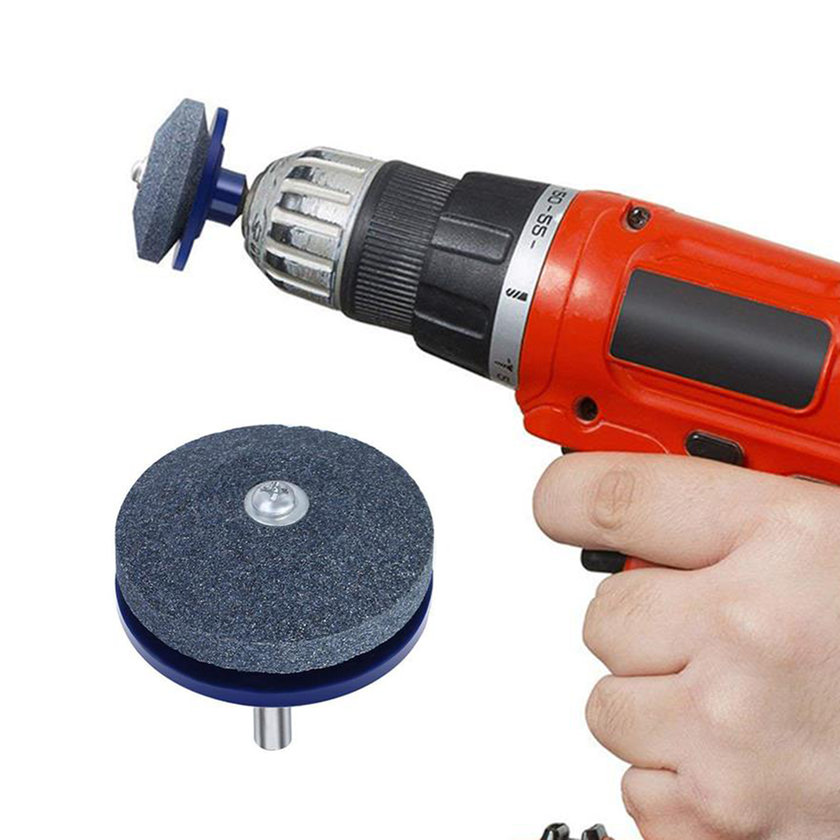 Lawnmower Blade Sharpener Garden Power Tools  For Cutting Grass Sharpener Electric Drill Drilling Mowing Cutter