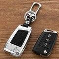 Peacekey Zink Allloy Leder Schlüssel Fall abdeckung Für Volkswagen Vw Kamm Polo 2016 Golf 7 Mk7 Für Skoda Octavia i a7 Für Seat Leon|Schlüsseletui für Auto|Kraftfahrzeuge und Motorräder -