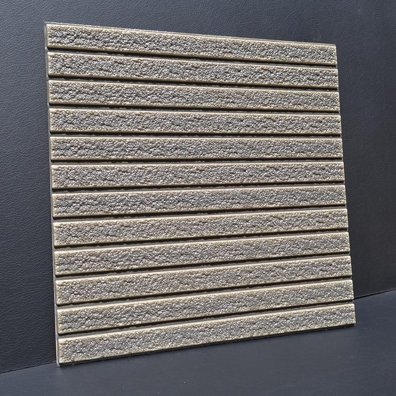 все цены на 3d creative wall stickers living room dormitory self-adhesive foam wallpaper imitation brick stone striped wallpaper stickers