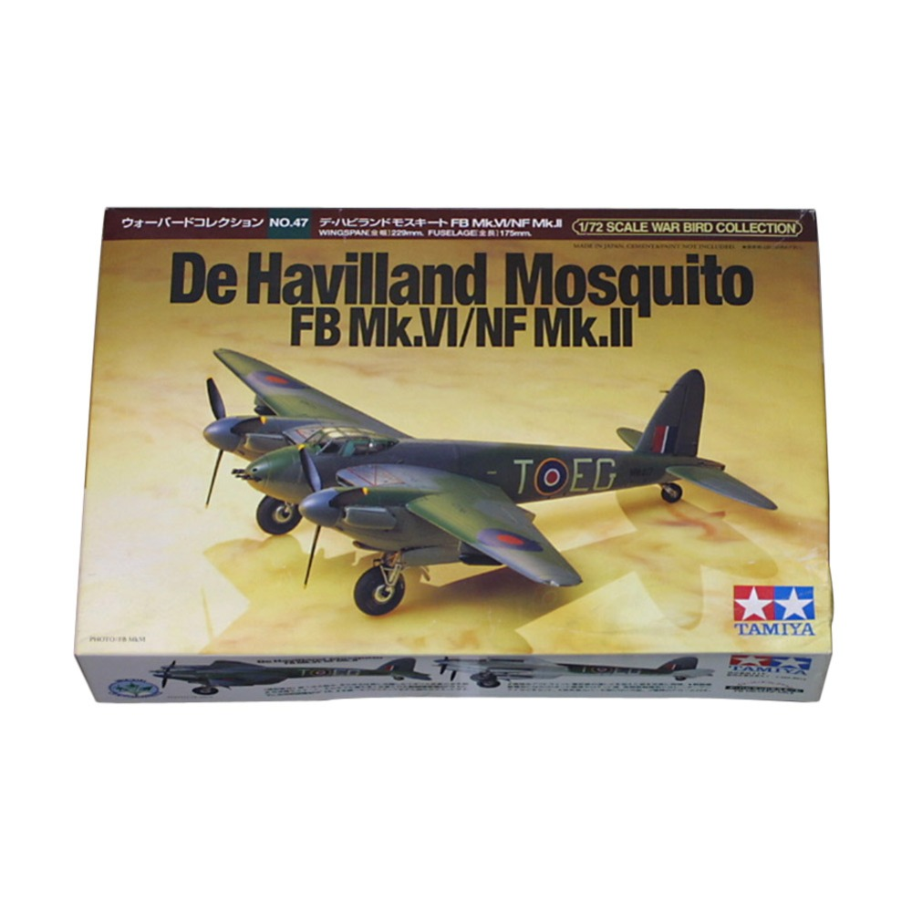 OHS Tamiya 60747 1/72 De Havilland FB Mk VI/NF Mk II Assembly Airforce Model Building Kits G цена