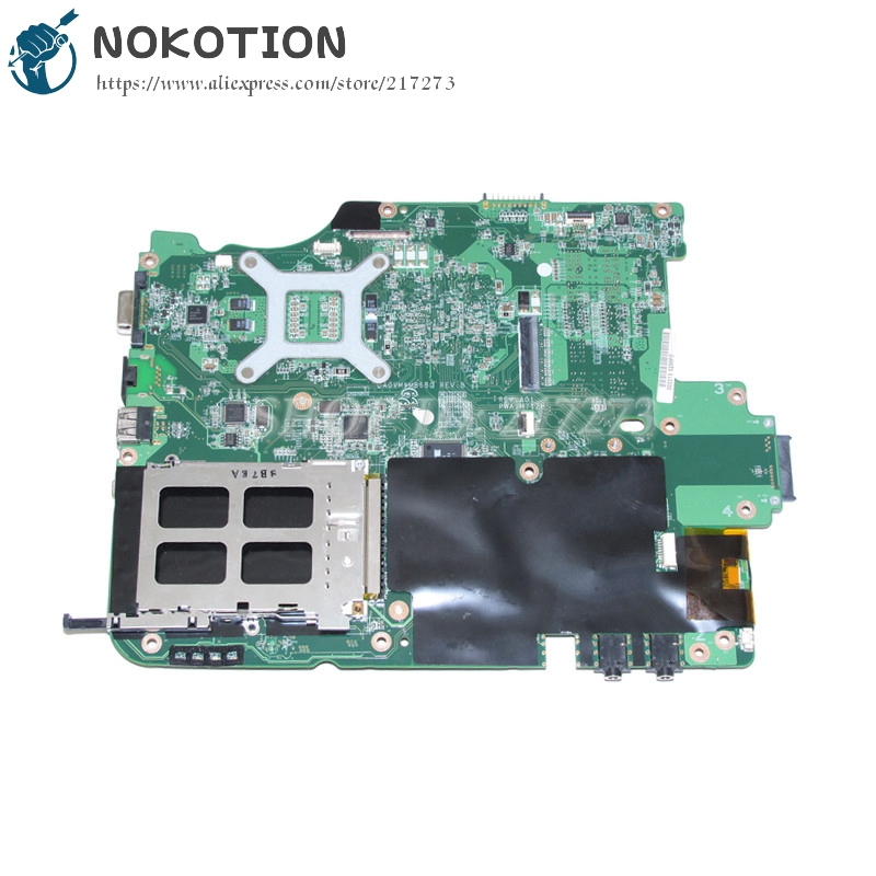 NOKOTION CN-0M712H 0M712H MAIN BOARD For Dell vostro A860 Laptop Motherboard DA0VM9MB6B0 965GM DDR2 Free CPU