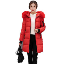 Winter Jacket Women 2017Fashion Winter And Autumn Wear High Quality Parkas Winter Jackets Outwear Women Long Coats