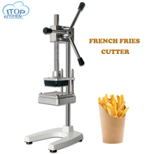 Potato Fries Cutter French Fries Cutting Machine 6mm 9mm 13mm Stainless Steel Food Vegetable Fruit Carrot Cutter for Kitchen недорго, оригинальная цена