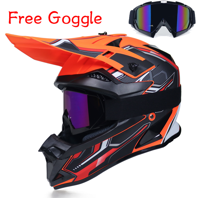 Free Shipping Motorcycle Helmet Full Covered Type Summer Four Seasons Moto Helmet Cross country Racing