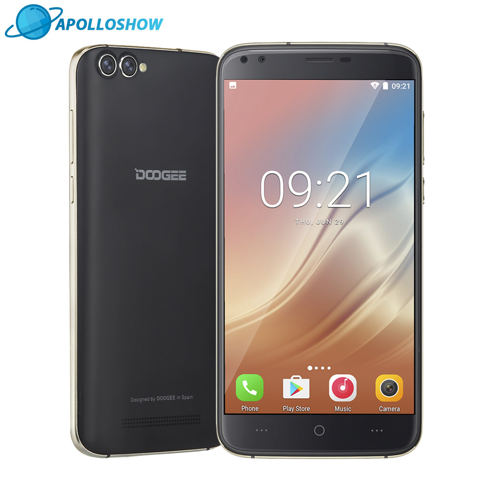 DOOGEE X30 Quad Camera 2x8 0MP 2x5 0MP Android 7 0 Mobile phone 3360mAh 5 5