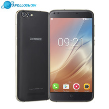 "Doogee X30 Quad Камера 2×8.0 Мп + 2X5.0 Мп Android 7.0 мобильный телефон 3360 мАч 5.5 ""HD MTK6580A 4 ядра 2 ГБ Оперативная память 16 ГБ Встроенная память смартфона"