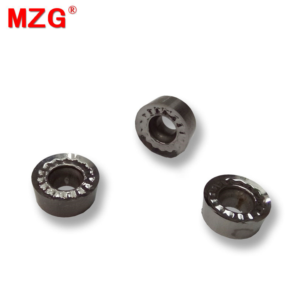 MZG RCGT0803MOZ ZPW10 Metal Cutter CNC Lathe External Turning Toolholder Cutting Machining Tungsten Carbide Inserts