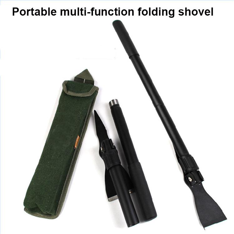 Manganese steel Professional outdoor survival Tactical Multifunctional Shovel folding Tools Garden camping equipment Army tool