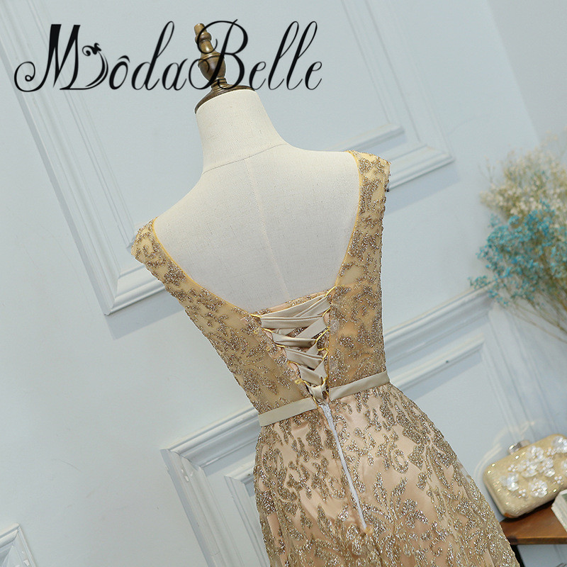 modabelle Gold Sequin Bridesmaid Dresses Vestidos De Madrinhas De ...